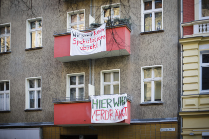 Mieterprotest in Neukölln
